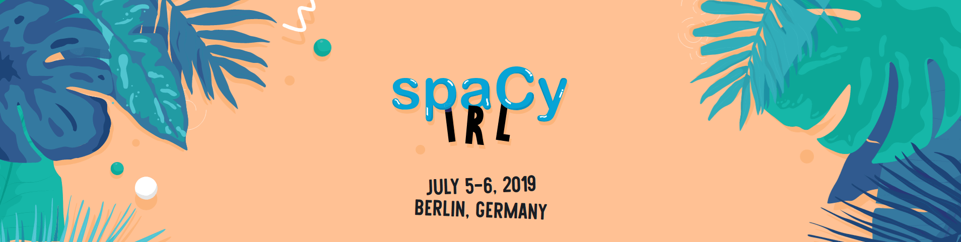 spaCy IRL Banner